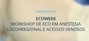 Workshop de Eco em Anestesia Locoregional e Acessos Venosos