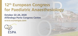 12th European Congress for Paediatric Anaesthesiology