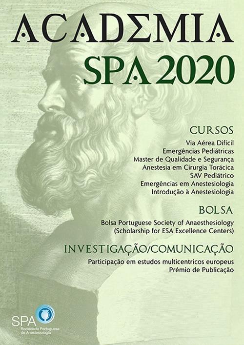 Cartaz Academia SPA 2020